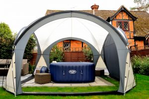 hot tub dome