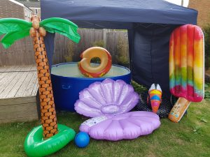 Hot tub summer party package