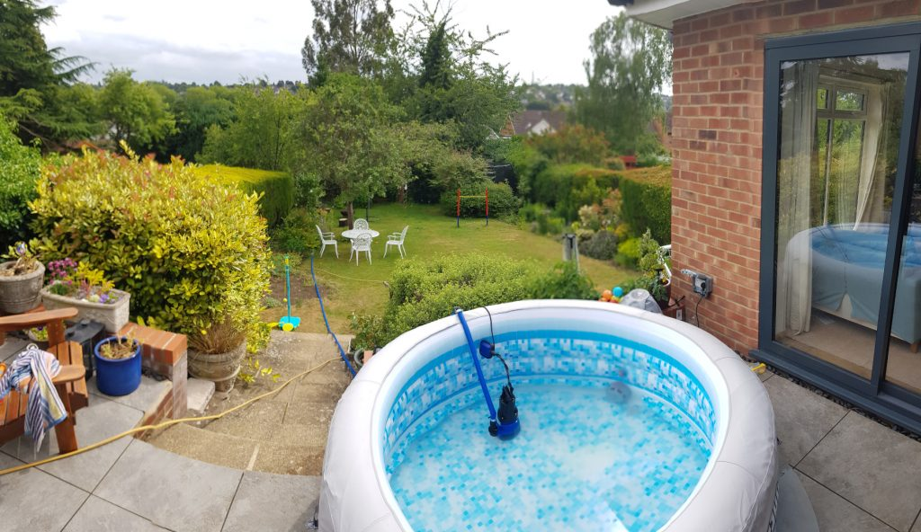 Berkhamsted hot tub