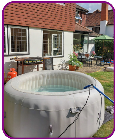 4-5 person hot tub
