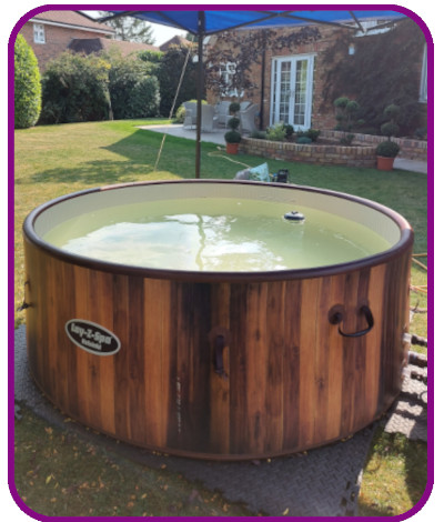 6-7 person hot tub